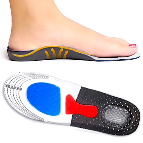 Silicone Shoe Insoles (1 pair)