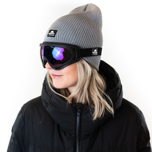Ski goggles with a good fit