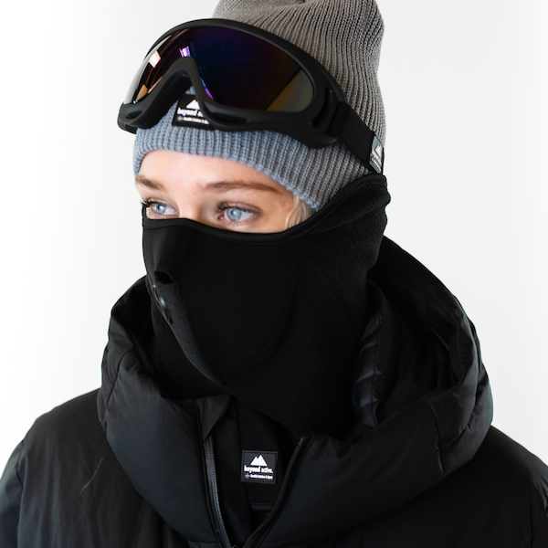 Ski mask for sports and winter activities